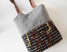 Shopper//Schultertasche Oslo//Unikat//Handmade