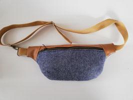Hüfttasche, Crossbody Bag Fischgrät, Handmade