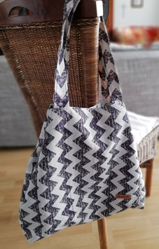 Shopper, Schultertasche Marlene, Canvas, Handmade