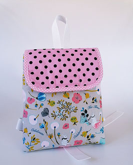 Kinderrucksack Mira rosa, Kindergartentasche, personalisiert