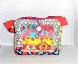 Kindergartentasche Reh, Patchwork