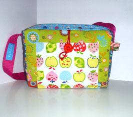 Kindergartentasche, Patchworktasche Äpfelchen