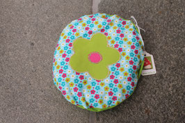 Traubenkernkissen Blume - rund
