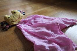 Nuschile rosa mit gelbem Kopf