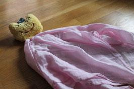 Nuschile rosa mit gelbem Kopf  (mit Haaren)