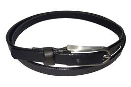 Anzugsgürtel 2cm, schwarz