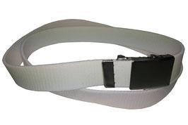 Gummigürtel 3cm, weiß