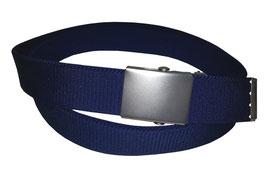 Gummigürtel 3cm, dunkelblau