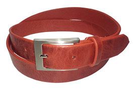 Freizeitgürtel 3,5cm, rot