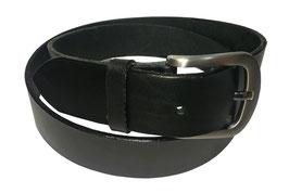 Jeansgürtel 4cm, schwarz