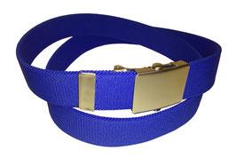 Gummigürtel 3cm, blau