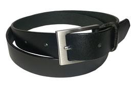 Freizeitgürtel 3,5cm, schwarz