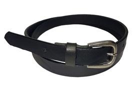 Anzugsgürtel 2,5cm, schwarz
