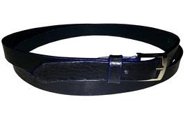 Anzugsgürtel 2,5cm, dunkelblau