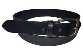 Anzugsgürtel 3cm, schwarz