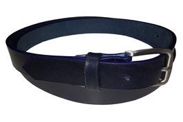 Anzugsgürtel 3cm, dunkelblau