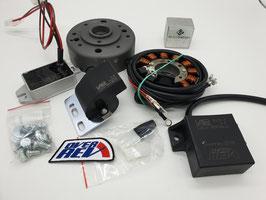 Overrev ignition kit for VESPA (please order base plate sepparatly!)