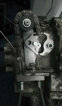Umbaukit 2-Zug Rahmen->1-Zug Motor