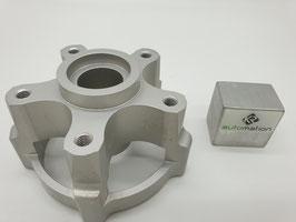 Radnabe passend für PX/PK Gabel zur Adaption der Felge Vorderrad PLC (silber)