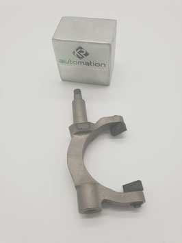 CNC grear selector fork for single wire engines