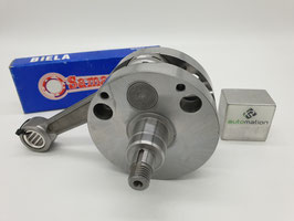 Kurbelwelle QUATTRINI M200 (für Quattrini C200 Gehäuse) - 56,5mm Hub, 116mm Pleuel (KR0058)