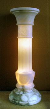 Alabastersäule, beleuchtet - ca. 80 cm