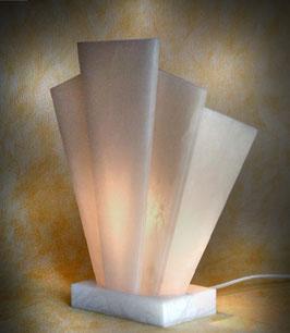 """Tischlampe """"Atlantis-Mann"""" - elektrisch, ca. 24 cm"""