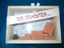 """Geldgeschenk- Kasse """"Grundstein"""""""
