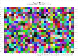 RGB 1200 Messfelder