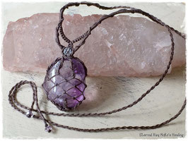 ★Makurame Necklace ~ Amethyst