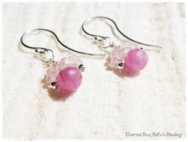 ★Pierce ~ Pink Sapphire