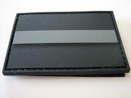 Klettpatch thin grey line ca. 6 x 4 cm