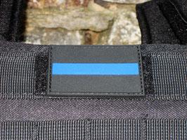 Klettpatch thin blue line ca. 6 x 4 cm