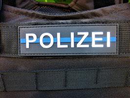 Klettpatch Polizei blue line ca. 10 x 3 cm