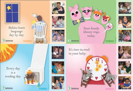 Early Literacy Poster Set (4-count)