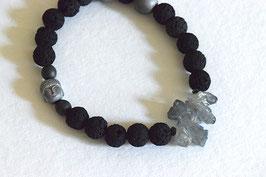 Elastisches Armband Kristall Buda
