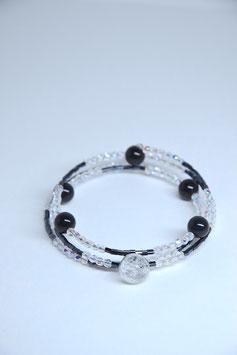 Armband Black Agate