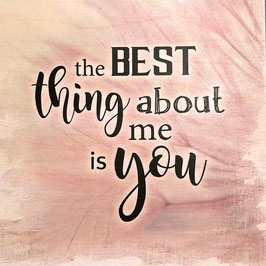 The Best Thing …