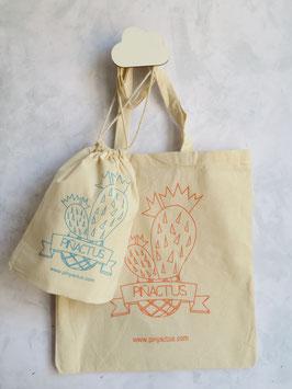 Tote Bag PIÑACTUS (bolsa grande)