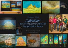 """""""Tafelbilder"""" Kalender 2016 in den Größen: A3 quer oder A4 quer"""