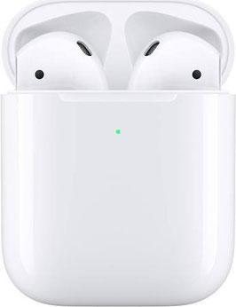 Apple AirPods 2nd Gen. mit kabellosem Ladecase White