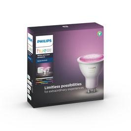 Philips Hue Starterset (GU 10) farbig