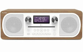 Pure Evoke C-D6 (Walnuss, DAB+, Bluetooth, CD