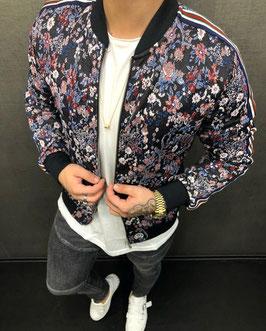 Streetwear Style Jacke Blumen