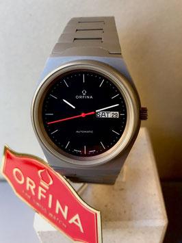 Orfina 3 Zeiger Uhr Stahl- Stahl