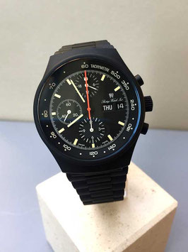 PWI Prestig Watch International by Orfina Chronograph schwarz Ref. 7176
