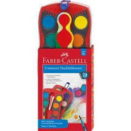 Faber-Castell Farbkasten Connector, 24 Farben