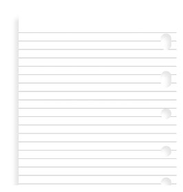 Einlage Notizpapier, liniert - Pocket