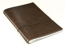 X17 Notizbuch A4 aus Naturleder, 2er