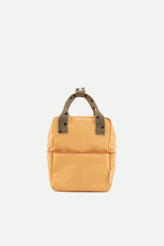 STICKY LEMON small backpack freckles | retro yellow + seventies green + faded orange